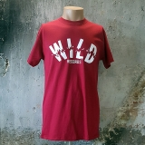 Wild Records - Logo (Card. Red)