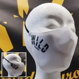 Wild Records - white mouth mask